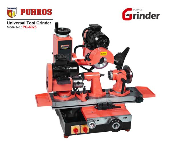 Universal Cutter Grinder, Universal Cutting Tool Sharpener, Universal Drill Bit Grinder, Drill Bit Grinder, PURROS PG-6025 Universal Tool Grinder Manufacturer, Best Universal Tool Grinder Online, Cheap Universal Grinder Sharpening Machine