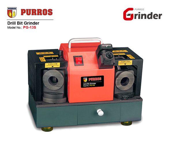 PURROS PG-13S Drill Bit Grinder, Drill Bit Grinder, DG Drills Sharpening Machine, Twist Drills Grinding Machine, Twist Drill Bit Grinder Manufacturer