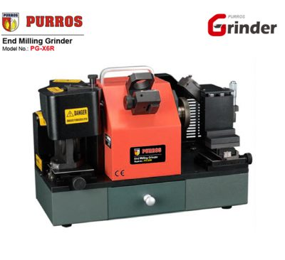 End Mill Grinder, End Mill Grinding Machine, Spiral End Mill Sharpening Machine, PURROS PG-X6R Spiral end mill sharpening machine, end mill re-sharpener manufacturer, Cheap End Mill Grinder, End Mill Grinder for Sale, End Mill Grinder Wholesaler, End Mill Grinder Exporter, End Mill Grinder Supplier