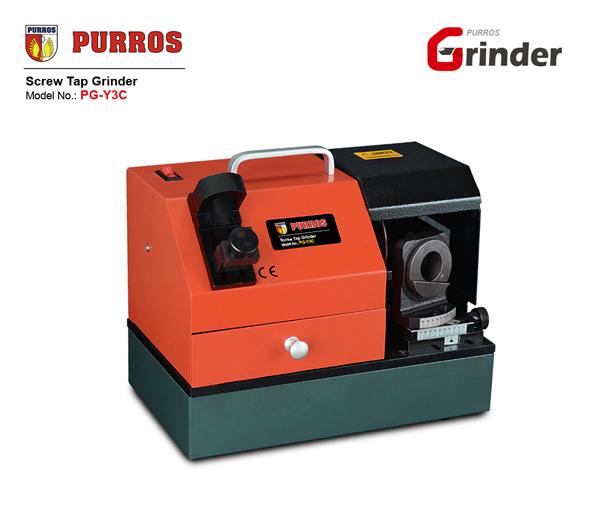 screw tap grinder machine, table tap grinder, tap cutting tool sharpener, tap drill bit grinder, tap drill bit sharpening